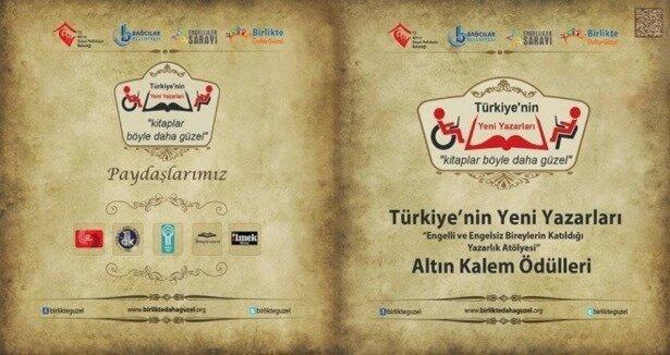 Altın Kalem, Türkiye''nin yeni yazarları''na veril