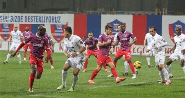 Karabükspor - Akhisar Belediyespor ( Maç özeti )