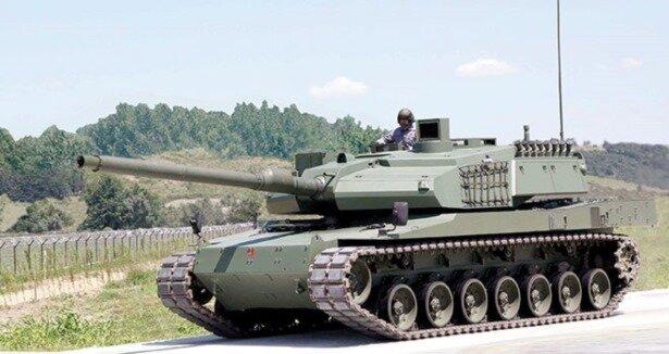 Milli tank Altay'a TÜMOSAN motoru