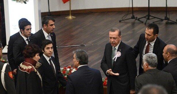 Başbakan Danıştay törenini terketti