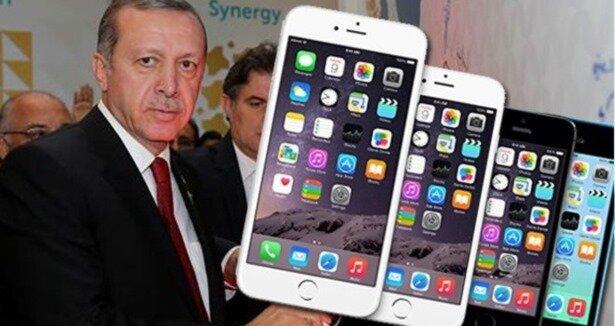 Erdoğan'dan iPhone 6 eleştirisi
