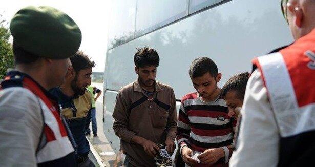 Bagajda yolcu taşıyan otobüs şoförüne ceza