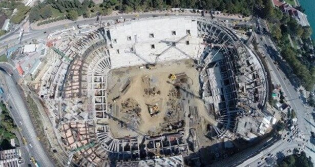 Vodafone Arena ne zaman bitiyor?