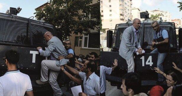 CHP'li vekil Mahmut Tanal toma ile ilgili görsel sonucu