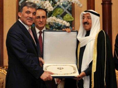 Gül'e Kuveyt Yüksek Devlet Nişanı