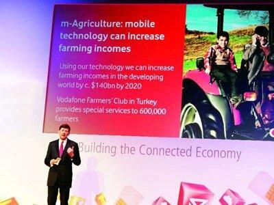 Türk çiftçisi mobil dünyanın vitrininde