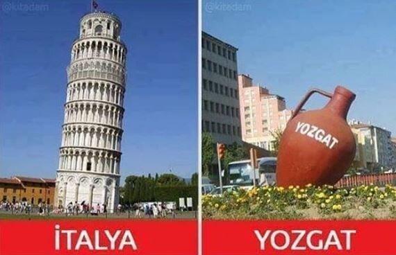 Asın bayrakları: Yozgat'a dair en komik 10 caps