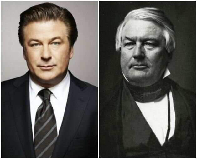 13 celebrities and their historical lookalikes