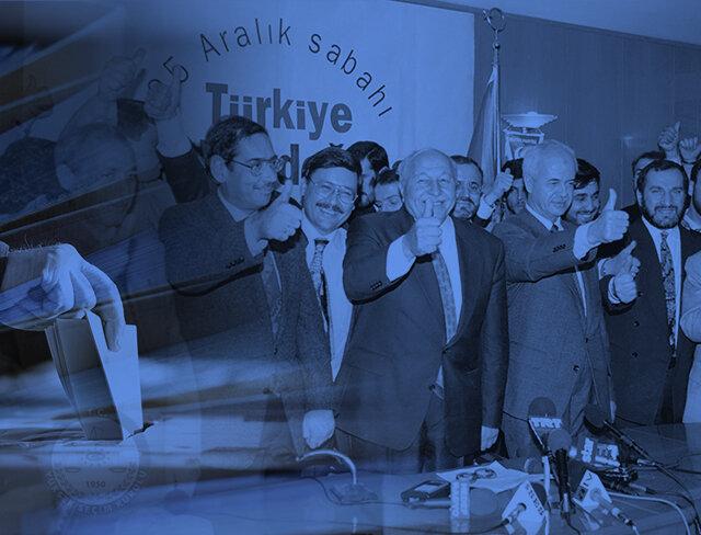 Bir çiçekle baharı getiren lider: 1995 genel seçimi