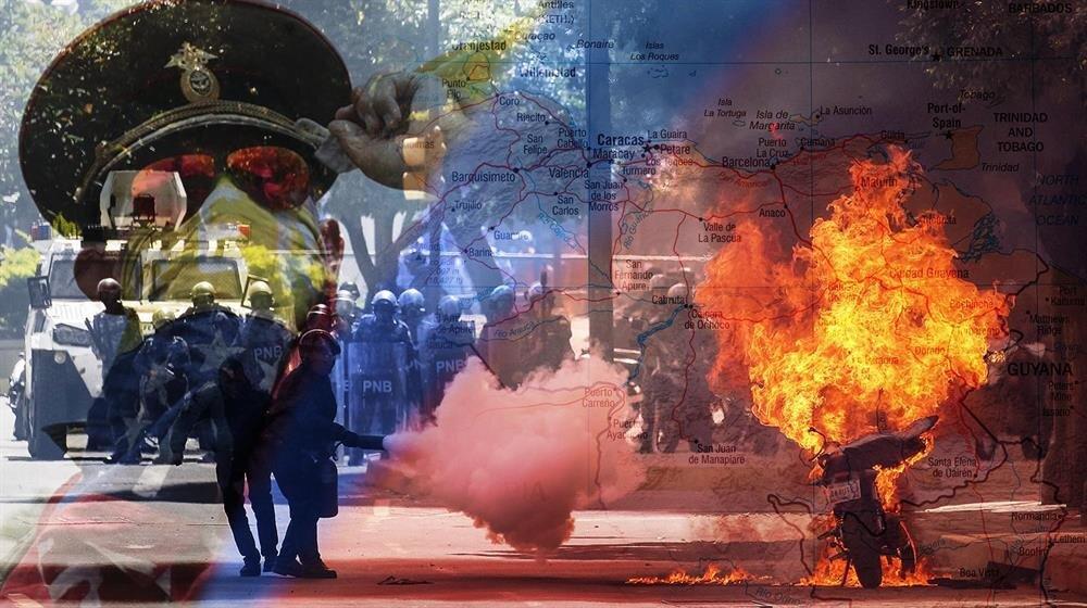 Venezuela'da Yüksek Mahkeme'nin Kongre'nin yetkilerini üzerine alması üzerine muhaliflerin çağrısıyla halk sokağa dökülmüştü.