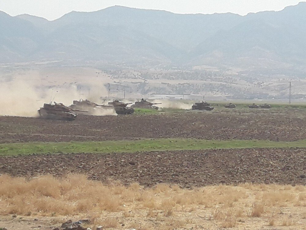 Turkish military drills on Iraqi border continue
