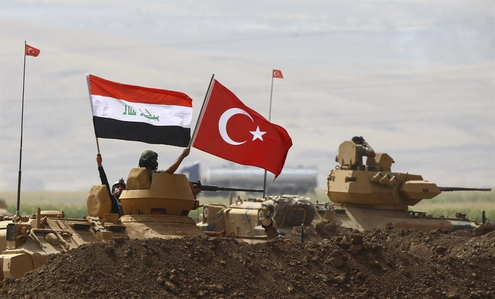 Turkish and Iraqi Armed Forces' joint military exercise near Turkey-Iraq border