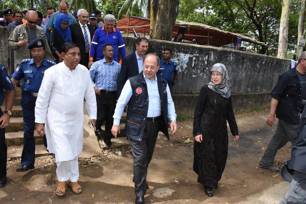 نائب يلدريم: قدمنا 3 عروض بخصوص إيواء الروهنغيا في بنغلاديش