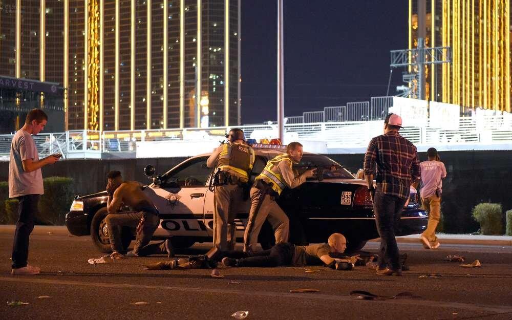 Shooting at music festival in Las Vegas
