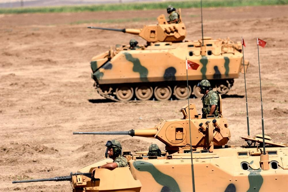 Turkey continues military drills with Iraqi army near border