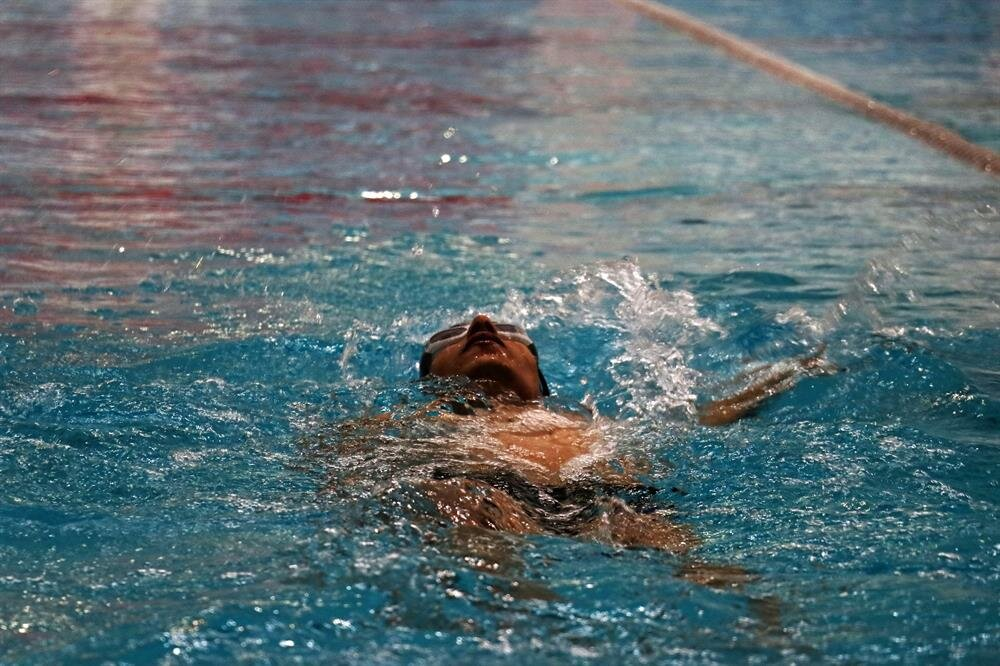 Blind Turkish swimmer wants Paralympic place