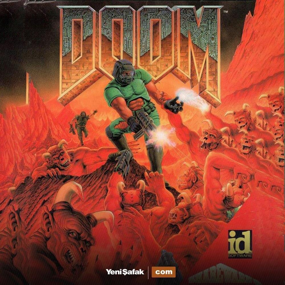 Efsanevi oyun DOOM'u piyasaya sürüldü