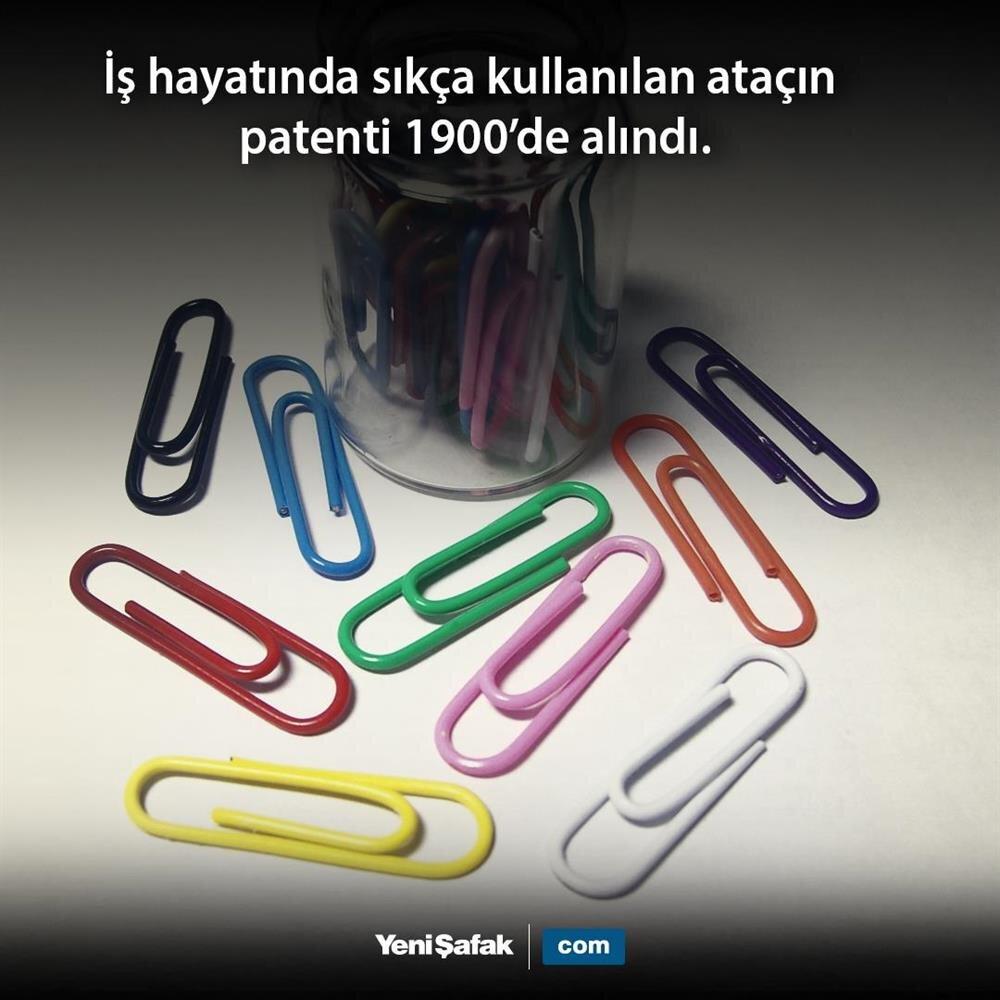 Ataçın patenti alındı