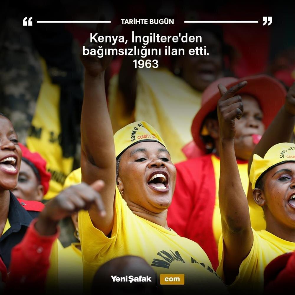 Kenya bağımsız oldu
