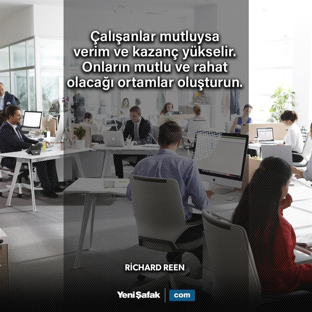'Çalışanlar mutluysa...'
