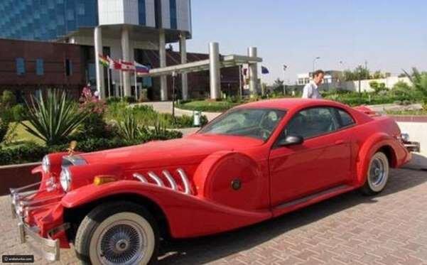 شاهد.. أسطول سيارات صدام حسين وأبنائه