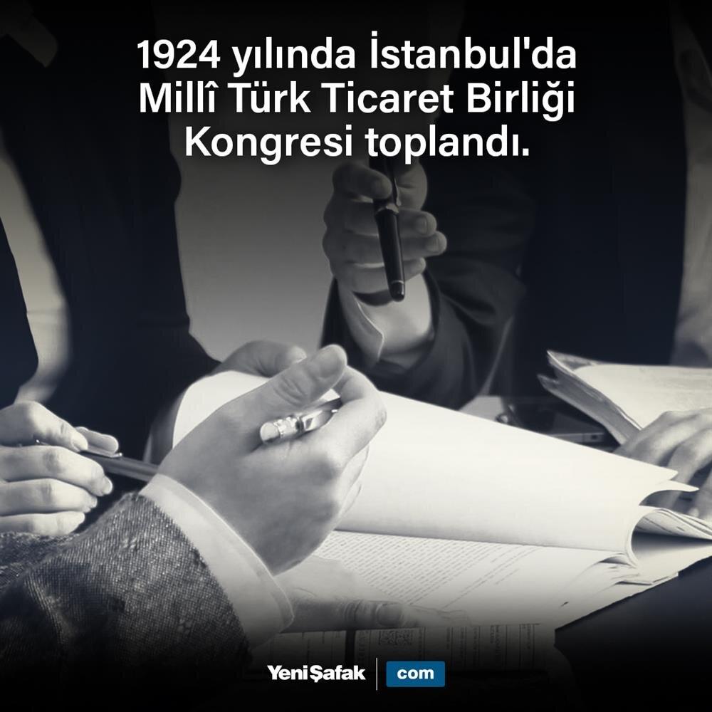 Millî Türk Ticaret Birliği Kongresi toplandı