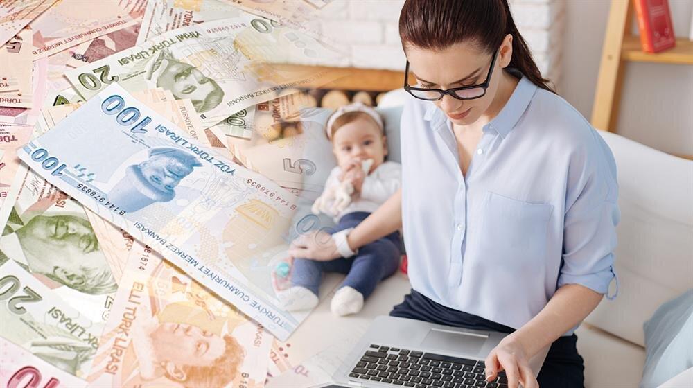 Yarım çalışma ödeneği ile kadın çalışanların mesleki faaliyetlerini ve kariyerlerini devam ettirirken aynı zamanda da çocuğuna da zaman ayırabilmesi sağlanıyor.