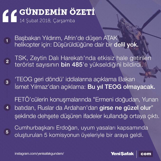 5 başlıkta Türkiye gündemi özeti;