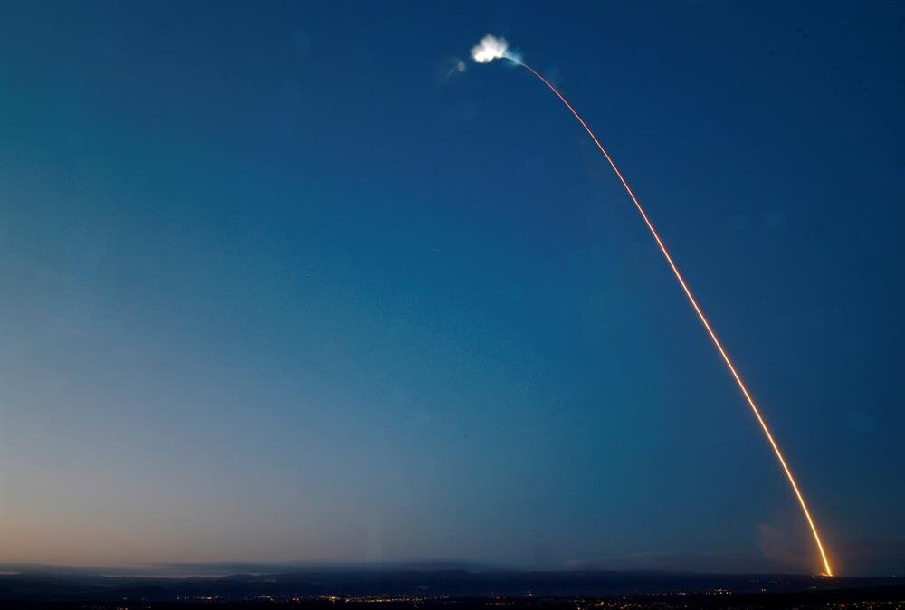 SpaceX Falcon 9 rocket launched from Vandenberg Air Force Base