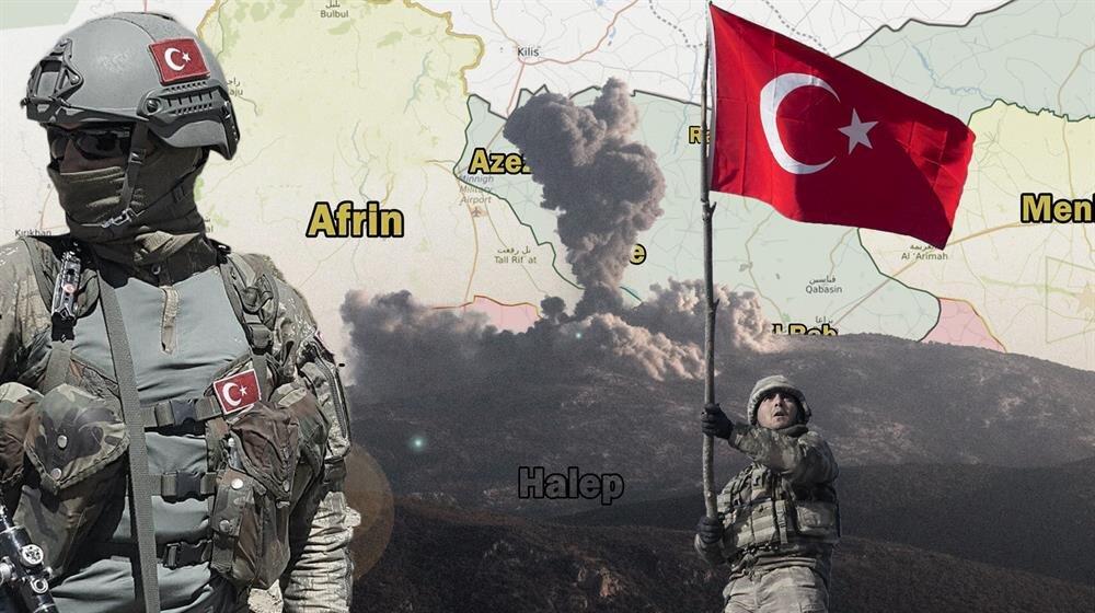 Türk Silahlı Kuvvetleri, Zeytin Dalı Harekatı'nda ilerleyişini sürdürüyor.