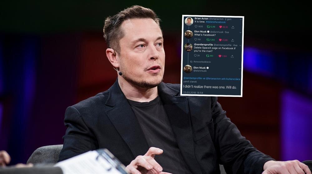 'Adamsan silersin' dedi Elon Musk sildi