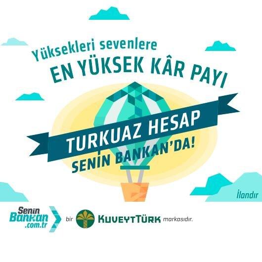 Kuveyt Türk Senin Bankan Turkuaz Hesabı