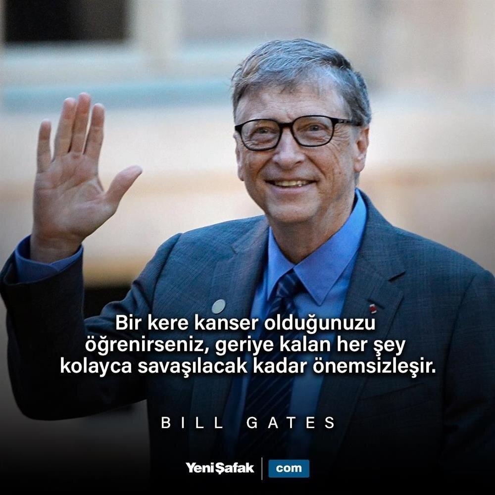 Günün sözü Bill Gates'ten