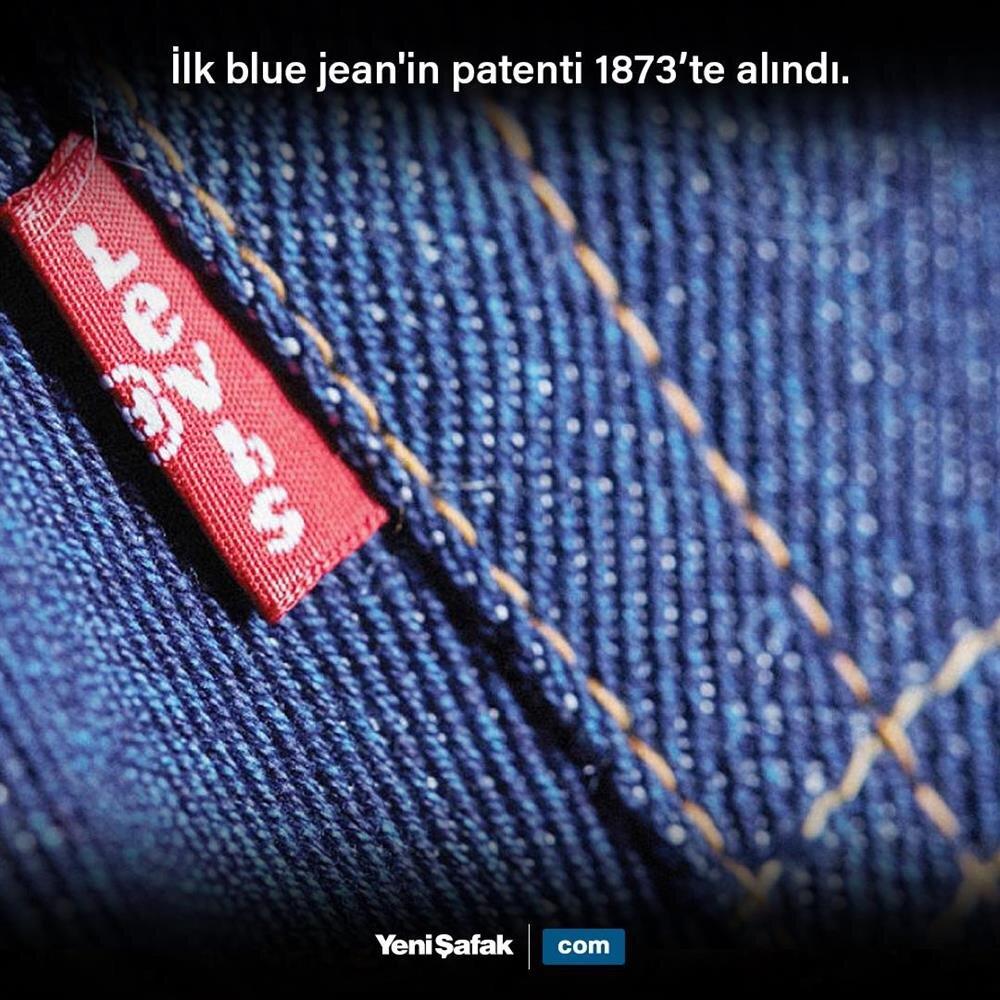 Blue Jean patenti alındı