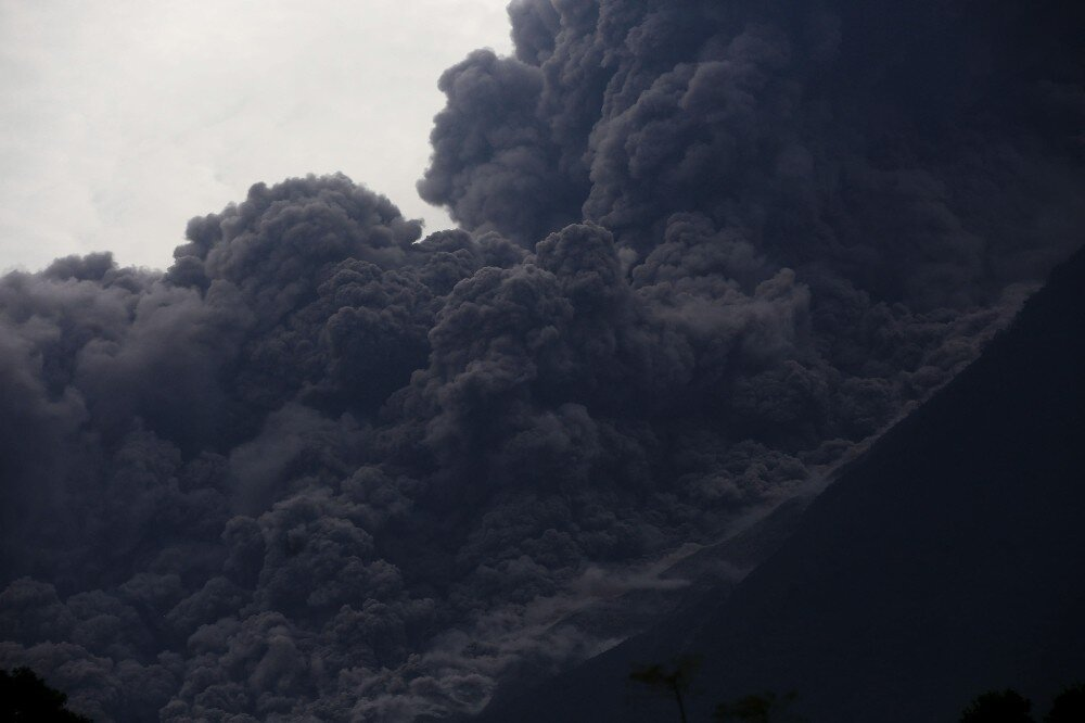 At least 25 killed in Guatemala volcanic eruption