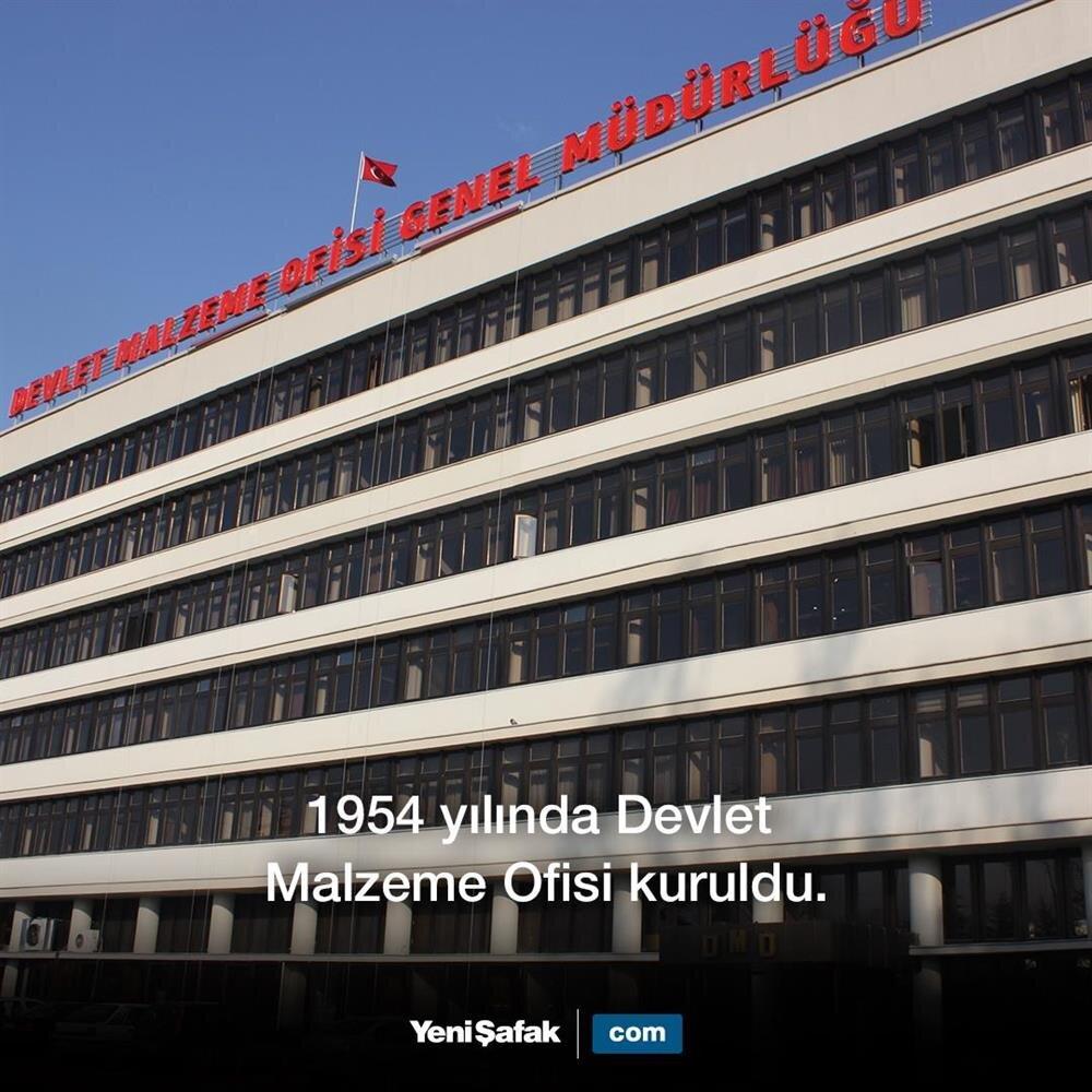 Devlet Malzeme Ofisi kuruldu