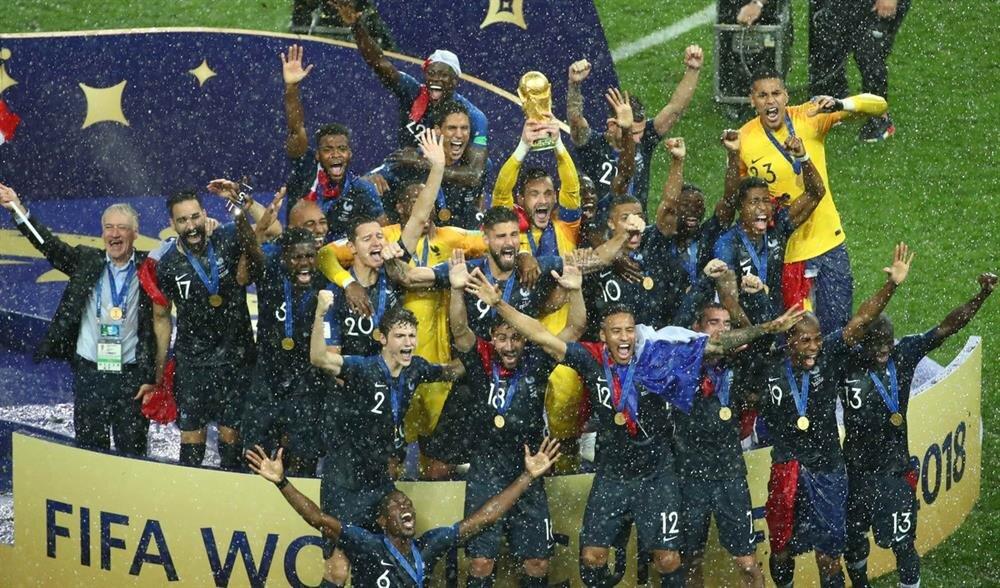 Fransa, ikinci kez Dünya Kupası zaferini elde etti.
