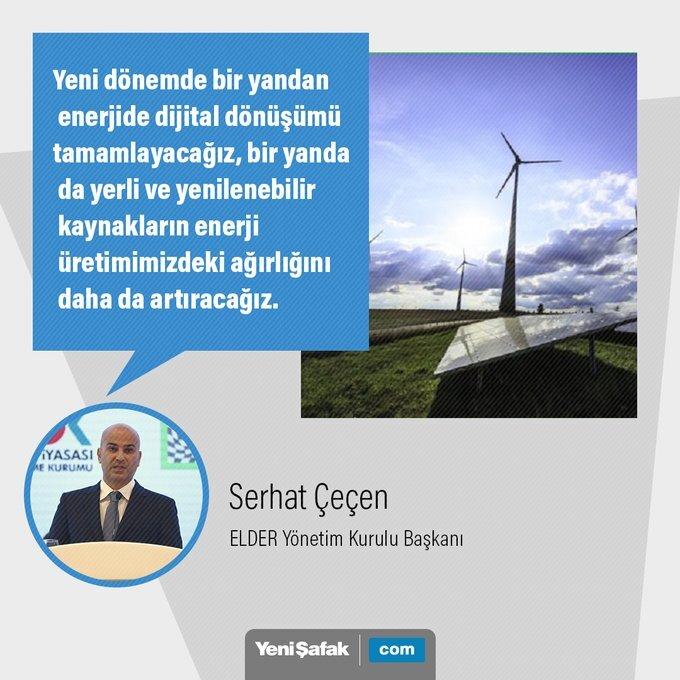 'Yenilenebilir kaynakların enerji üretimimizdeki ağırlığını daha da artıracağız'