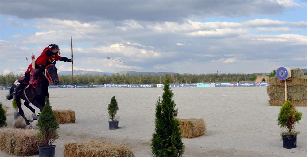 Traditional 'Turkic Games Festival' begins in Turkey's Erzurum