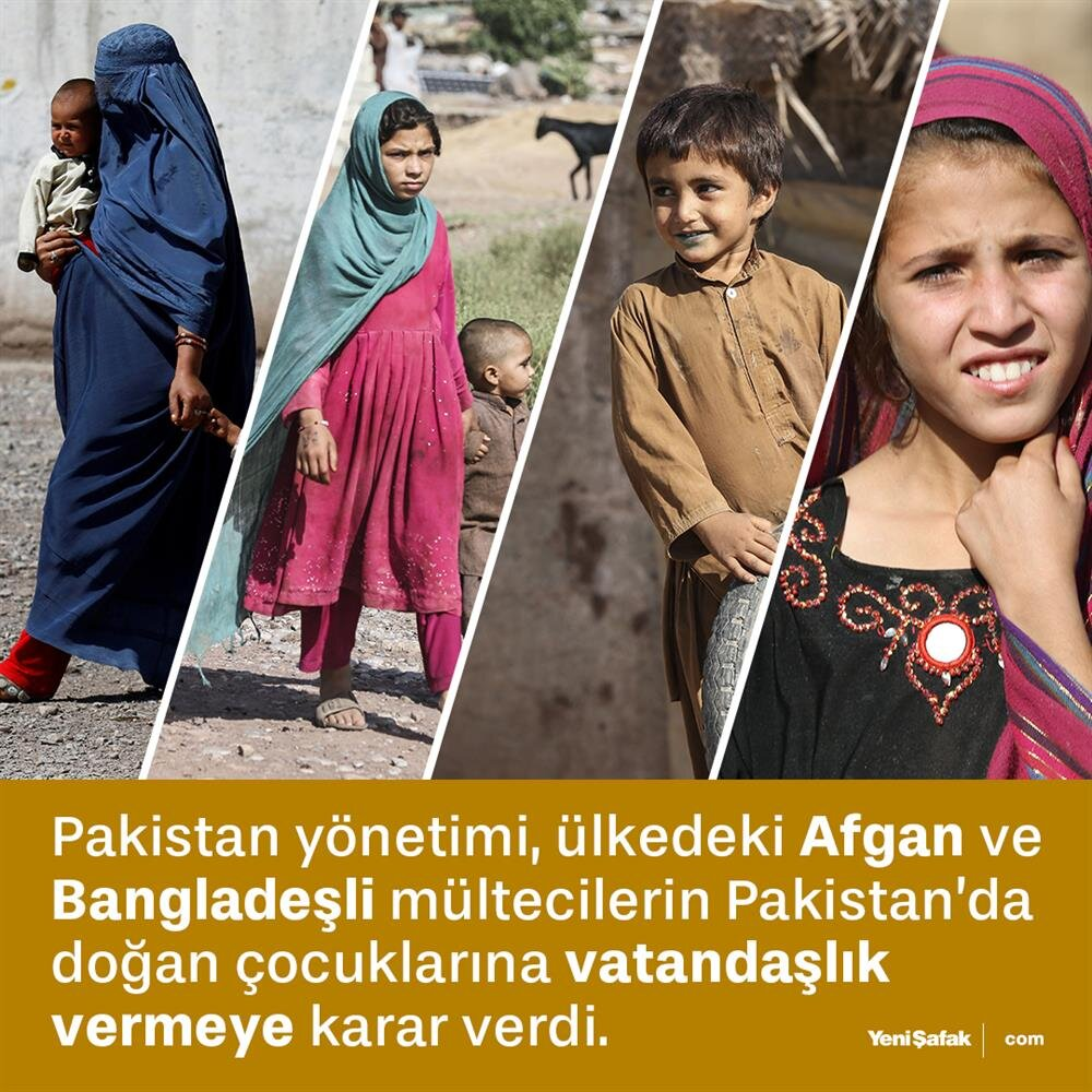 Pakistan'dan 'mülteci' kararı
