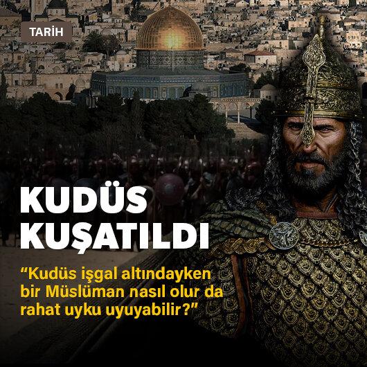 Kudüs kuşatıldı
