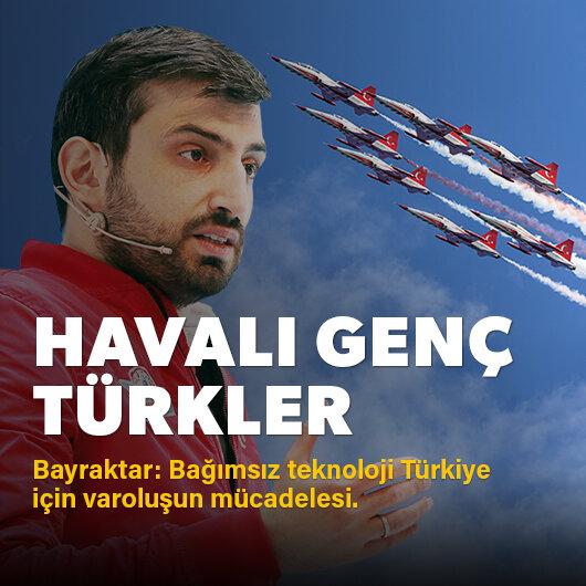 Havalı genç Türkler