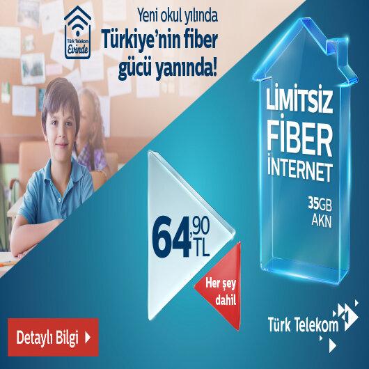 Türk Telekom'dan fiber hızlı net kampanya