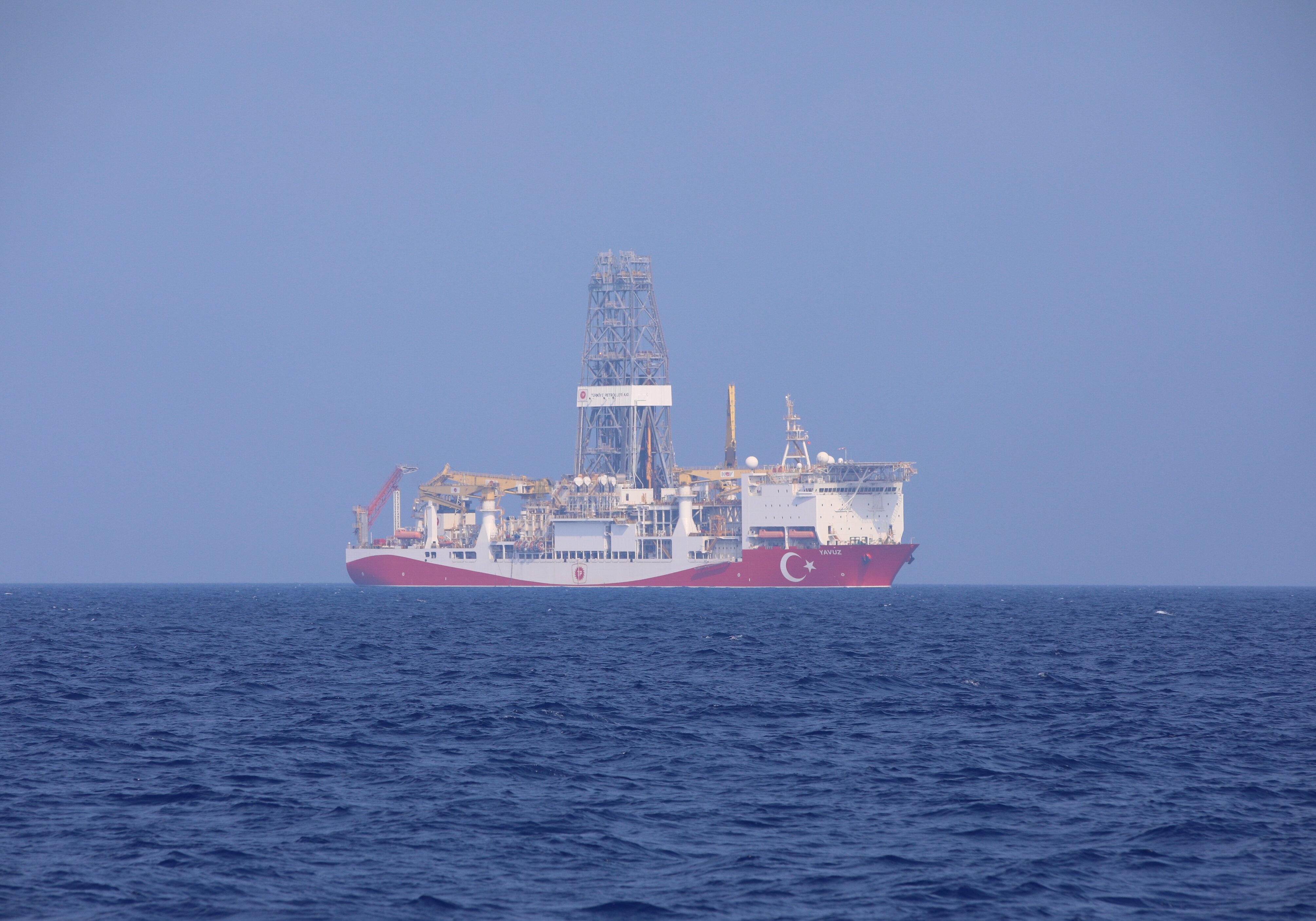 Turkey's drillship 'Yavuz' begins operations in Eastern Mediterranean