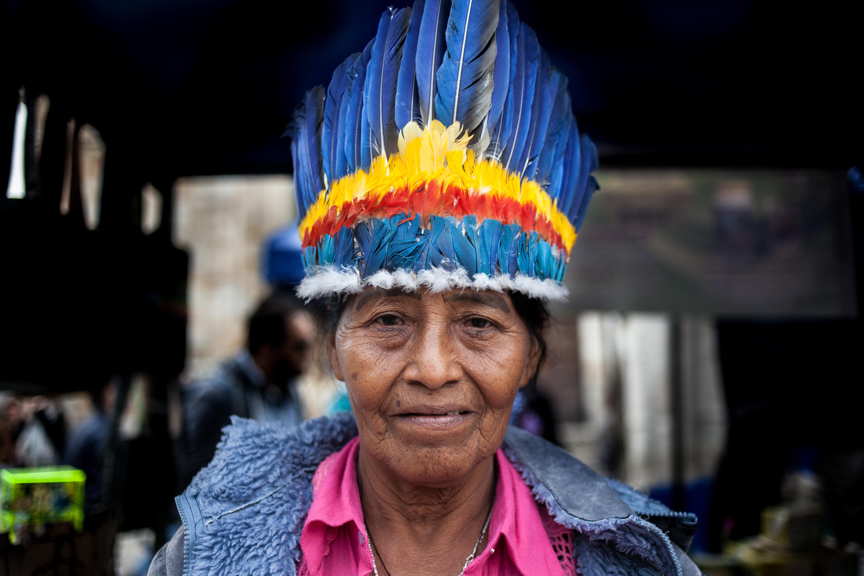 Indigenous Market Culture in Bogota