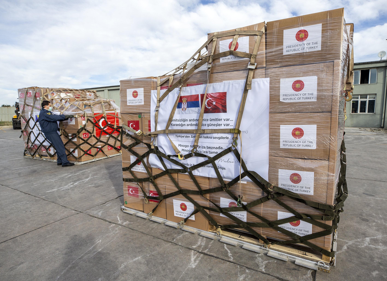 Turkey sends medical aid to Balkan countries