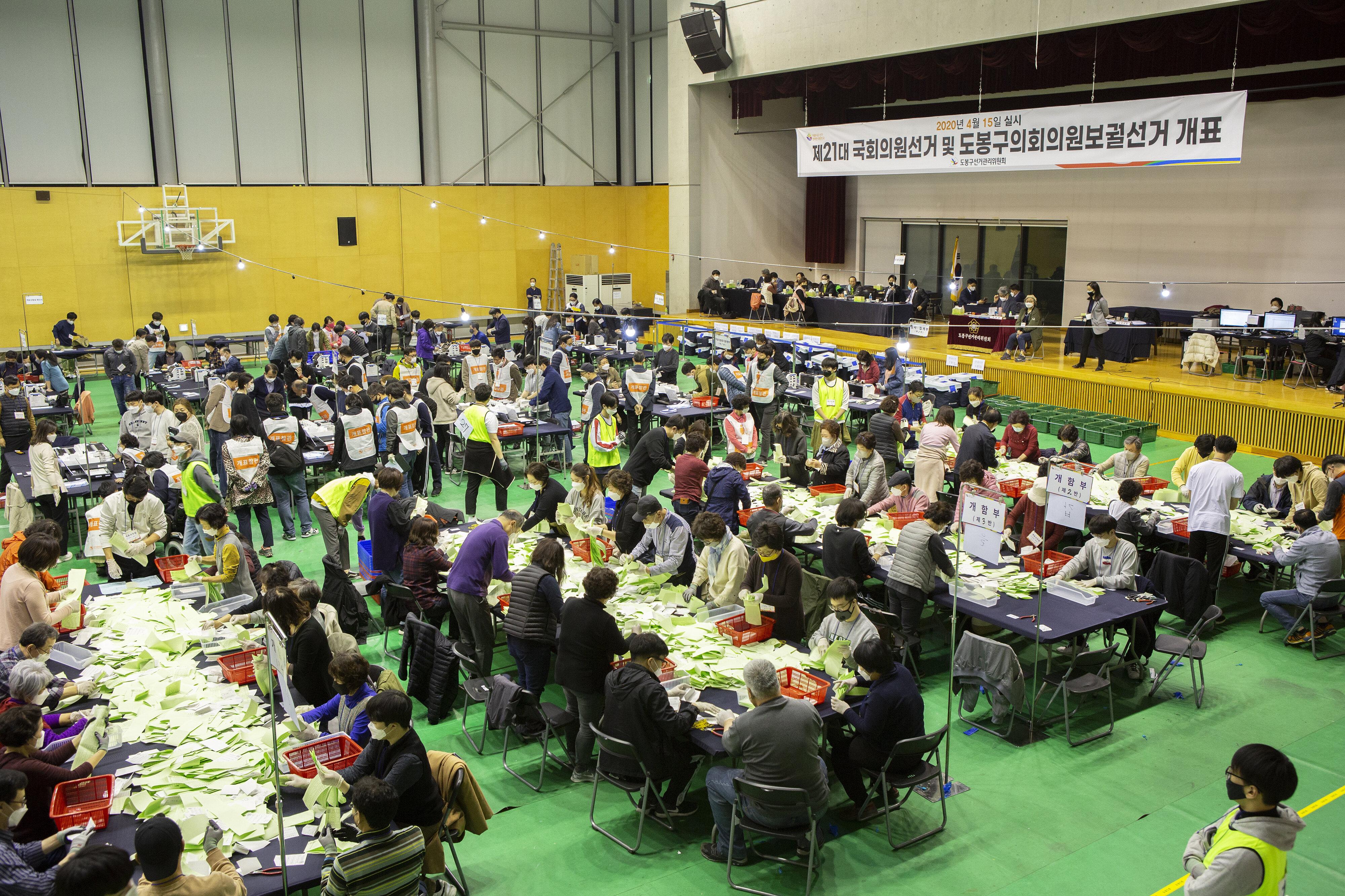 South Korea holds parliamentary elections amid coronavirus outbreak
