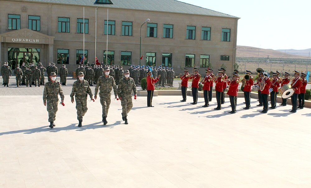 Turkish soldiers to attend joint exercise with Azerbaijan arrived in Baku