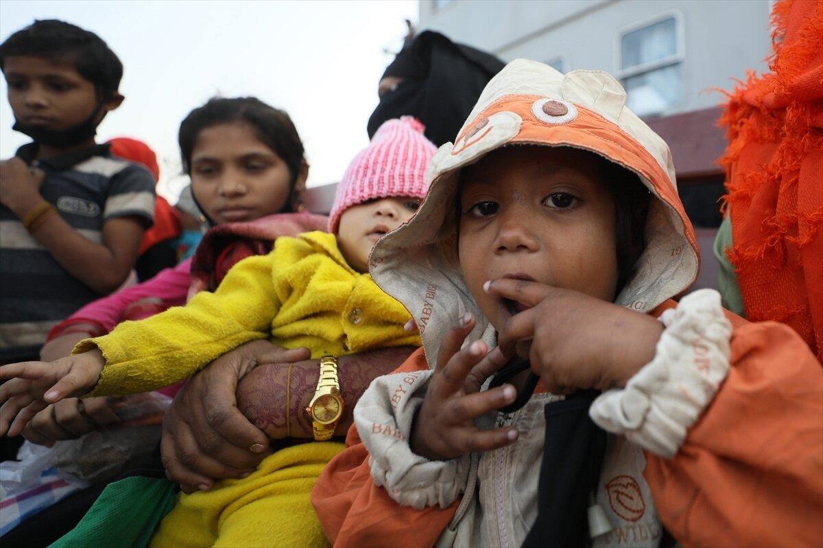 Rohinga people relocated in Bhashan Char