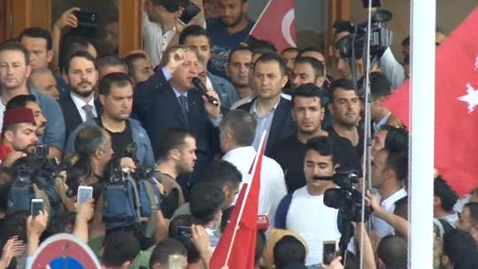 Erdoğan'dan havalimanında ikinci açıklama